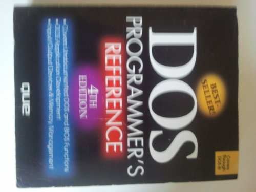 9781565291508: DOS Programmer's Reference