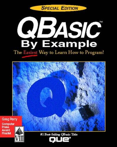 Qbasic by Example (Programming (Que)): Greg M. Perry