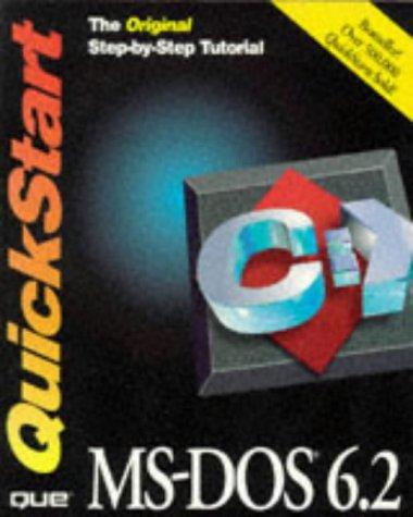 MS-DOS 6.2 Quickstart: Konicki, Steve