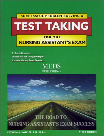 9781565330306: Successful Problem Solving and Test Taking for the Nursing Assistant's Exam