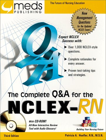 9781565330351: The Complete Q&A for the NCLEX-RN (Book w/CD-ROM)