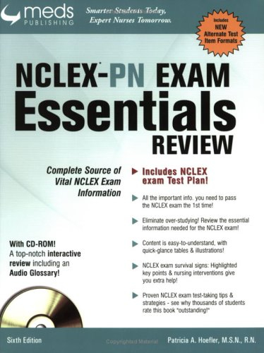 9781565330498: NCLEX-PN Exam Essentials Review Book, 6th Edition