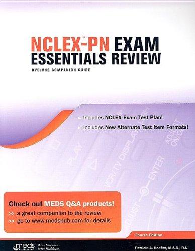 NCLEX-PN Exam Essentials Review: DVD/VHS Companion Guide: Patricia A. Hoefler