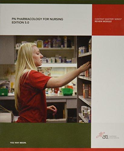 9781565335233: PN Pharmacology for Nursing Edition 5. 0