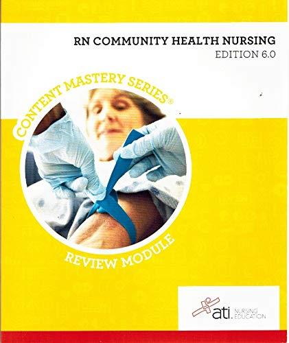 RN Community Health Nursing Edition 6. 0: Sommer
