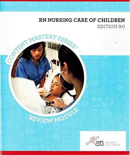 RN Nursing Care of Children Edition 9.: Sommer, Johnson, Roberts,