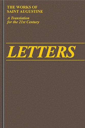 9781565482005: Letters 156 -210 (The Works of Saint Augustine, a Translation for the 21st Century: Part 2 - Letters)