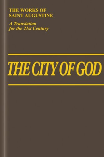 9781565484795: The City of God (11-22) (Vol. I/7) (The Works of Saint Augustine: A Translation for the 21st Century)