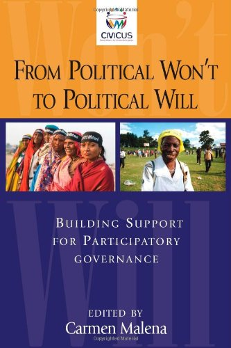 9781565493117: From Political Won't to Political Will: Building Support for Participatory Governance