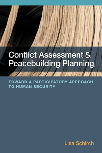 9781565495814: Conflict Assessment and Peacebuilding Planning: Toward a Participatory Approach to Human Security