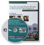 9781565582699: The Stanford Video Guide to Financial Statements: A Tale of Two Restaurants