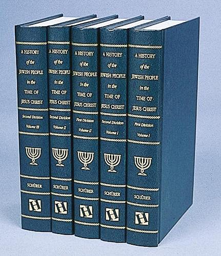 9781565630499: A History of the Jewish People in the Time of Jesus Christ (5 volume set)
