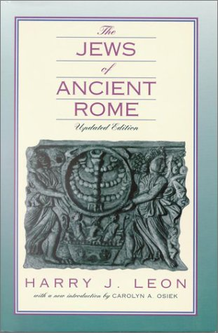 9781565630765: The Jews of Ancient Rome