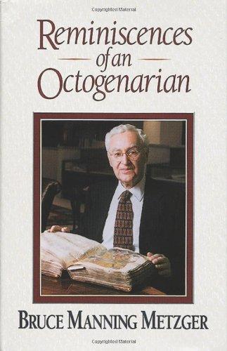 9781565632646: Reminiscences of an Octogenarian