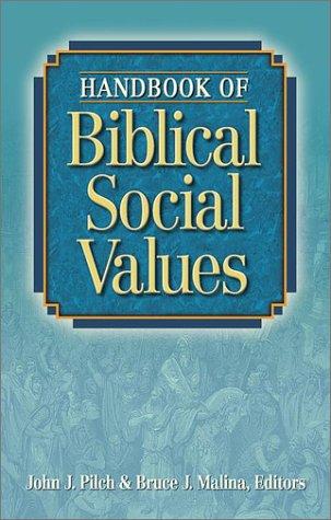 9781565633551: Handbook of Biblical Social Values