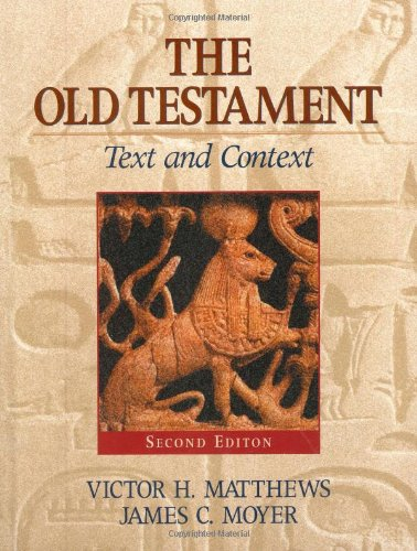 9781565633582: The Old Testament: Text And Context