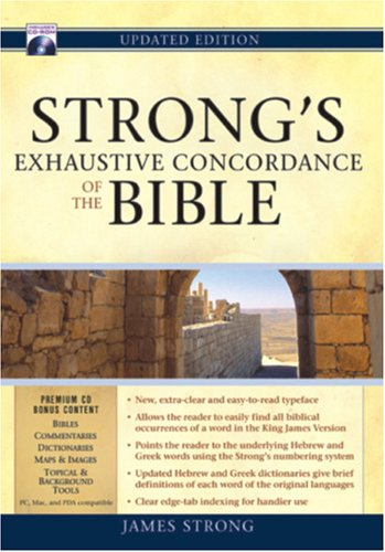 9781565633599: Strong's Exhaustive Concordance of the Bible [With CDROM]