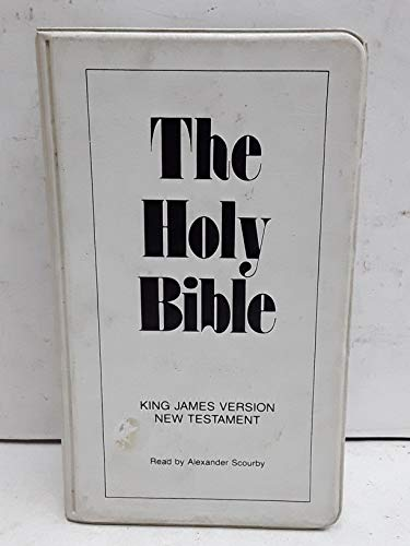 9781565633841 Alexander Scourby Holy Bible King James Version New