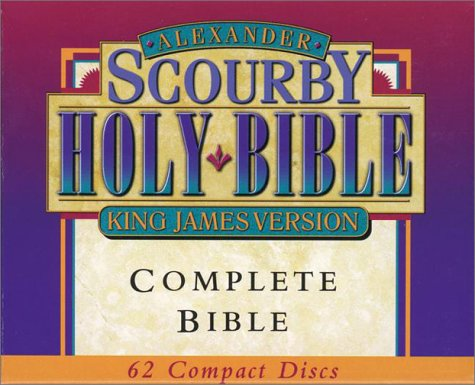 9781565633902: KJ Whole Bible on Compact Disc - Nar: Scourby
