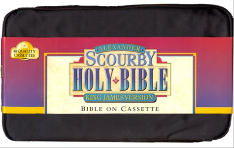 9781565634213 Alexander Scourby Holy Bible King James Version