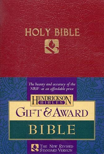 9781565634756: Gift & Award Bible-NRSV