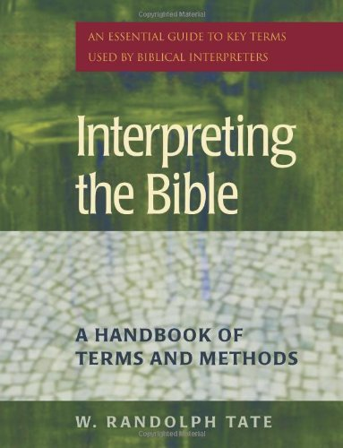 9781565635159: Interpreting the Bible: A Handbook of Terms And Methods
