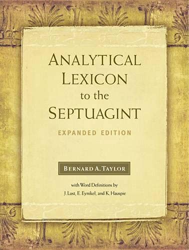 9781565635166: Analytical Lexicon to the Septuagint: Expanded Edition