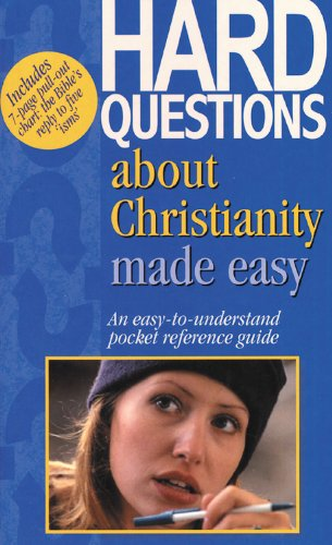 9781565635272: Hard Questions About Christianity Made Easy: An Easy-To-Understand Pocket Reference (Bible Made Easy)