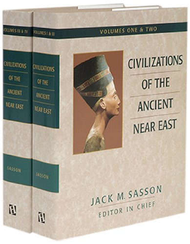 9781565636071: Civilizations of the Ancient Near East/4 Volumes Bound in 2 Books