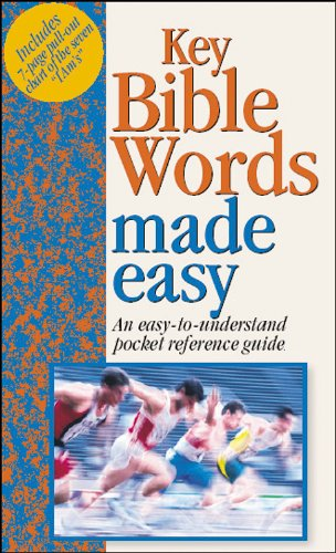 Key Bible Words Made Easy [With Pull-Out Chart] (Bible Made Easy) (1565637895) by Mark Water