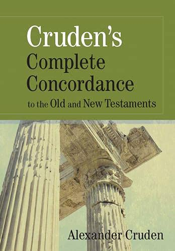9781565638181: Cruden's Complete Concordance to the Old and New Testaments