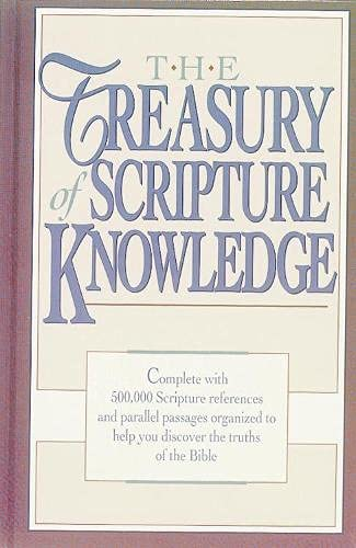 9781565638334: The Treasury of Scripture Knowledge