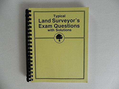 9781565690004: Typical Land Surveyor's Exam Questions With Solutions