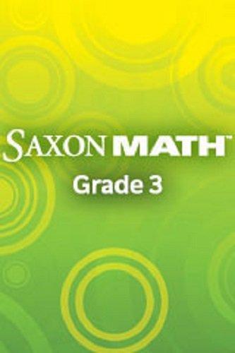 9781565770041: Math 3 1e Manipulatives (Saxon Math Grade 3) (Saxon Math 3)