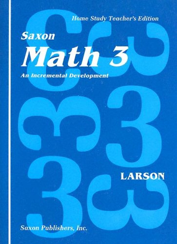 Math 3 Home Study: Larson, Nancy; with