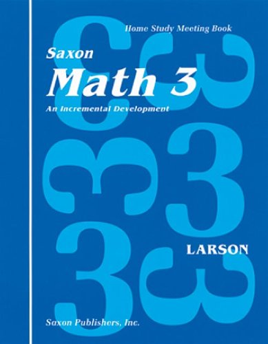 9781565770201: Saxon Math 3 Homeschool: Complete Kit 1st Edition