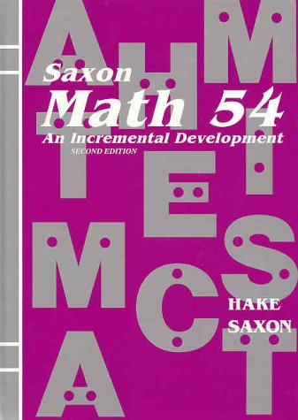 Math 54: An Incremental Development: Stephen Hake, John
