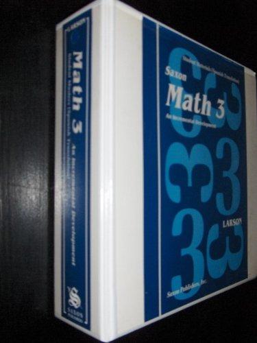 Matematica 3: Desarrollo Incremental: Cuaderno de Trabajo Para el Estudiante with Paperback Book(s) (Spanish Edition) (1565770463) by Nancy Larson; Linda Mathews