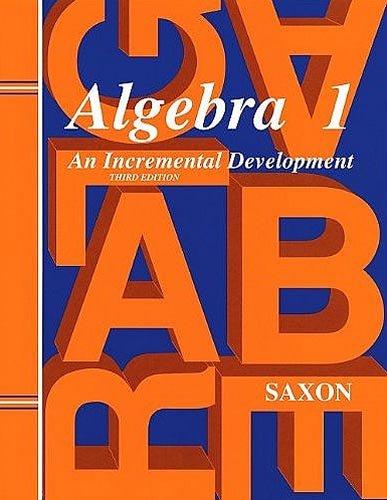 9781565771239: Saxon Algebra 1: Homeschool Kit Third Edition