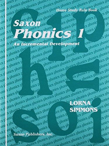 9781565771765: Saxon Phonics 1: Homeschool Teaching Tools First Edition