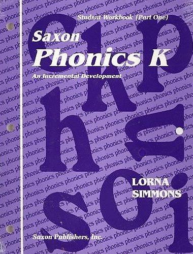 Phonics K: Homeschool Kit (Homeschool Phonics &: Lorna Simmons