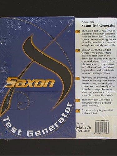 Saxon Test