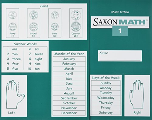 9781565772694: Saxon Math 1: Workbook and Materials