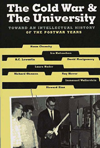 9781565840058: The Cold War & the University: Toward an Intellectual History of the Postwar Years