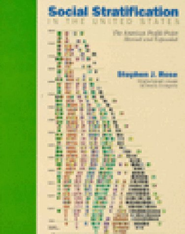 9781565840218: Social Stratification in the United States: The American Profile Poster Revised and Expanded