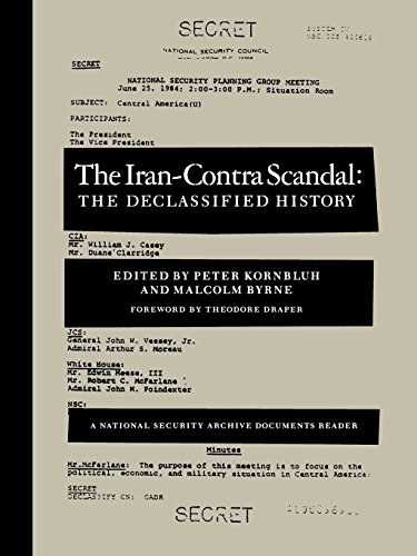 9781565840478: The Iran-Contra Affair (National Security Archive Documents Readers)