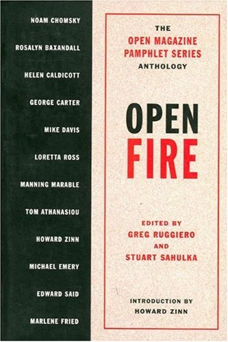 9781565840560: Open Fire: The Open Magazine Pamphlet Series Anthology, No 1