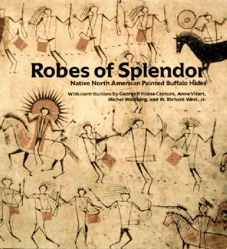 9781565841161: Robes of Splendor: Native American Painted Buffalo Hides