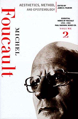 9781565843295: Aesthetics, Method, and Epistemology: Essential Works of Foucault, 1954-1984 (New Press Essential)