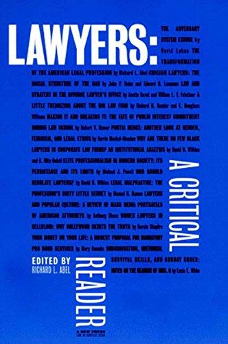 9781565843929: Lawyers: A Critical Reader
